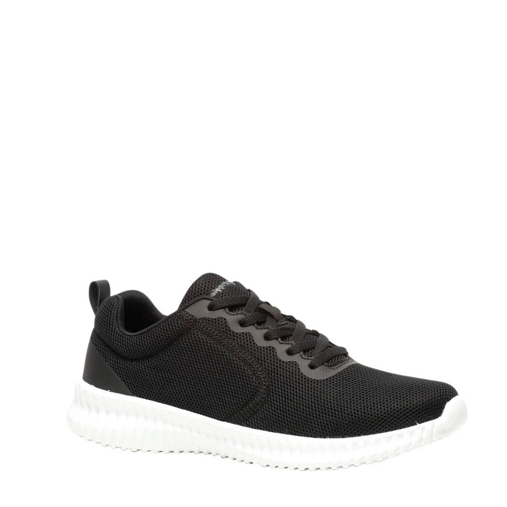 Hush Puppies   sneakers zwart, Zwart