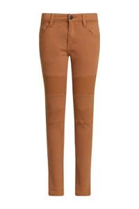 WE Fashion Blue Ridge skinny jeans bruin, Bruin