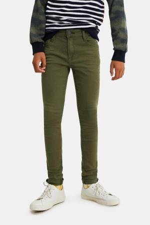 skinny jeans groen