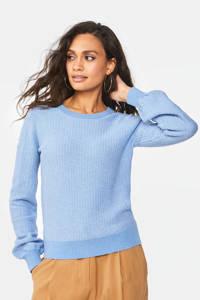 WE Fashion trui lichtblauw, Lichtblauw