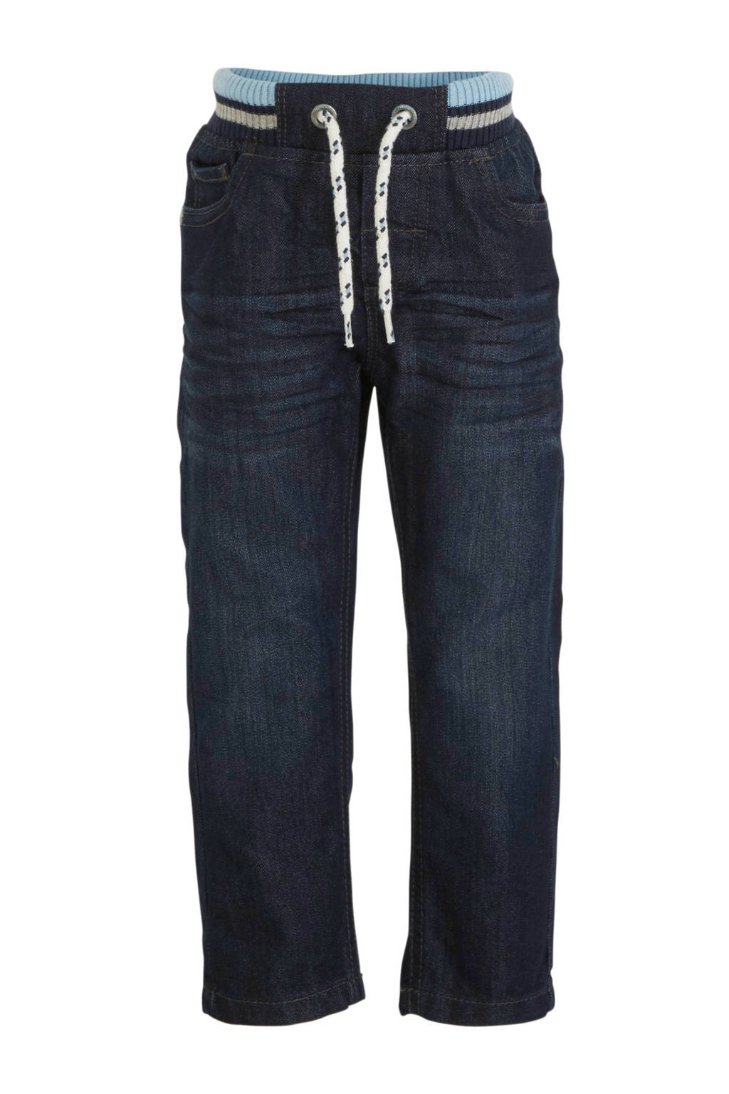 C&A Palomino straight fit broek dark denim, Dark denim
