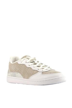 Vilma  suède sneakers wit/beige