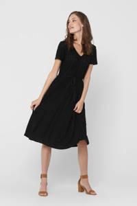 JACQUELINE DE YONG jurk Fatinka met ceintuur zwart, Zwart