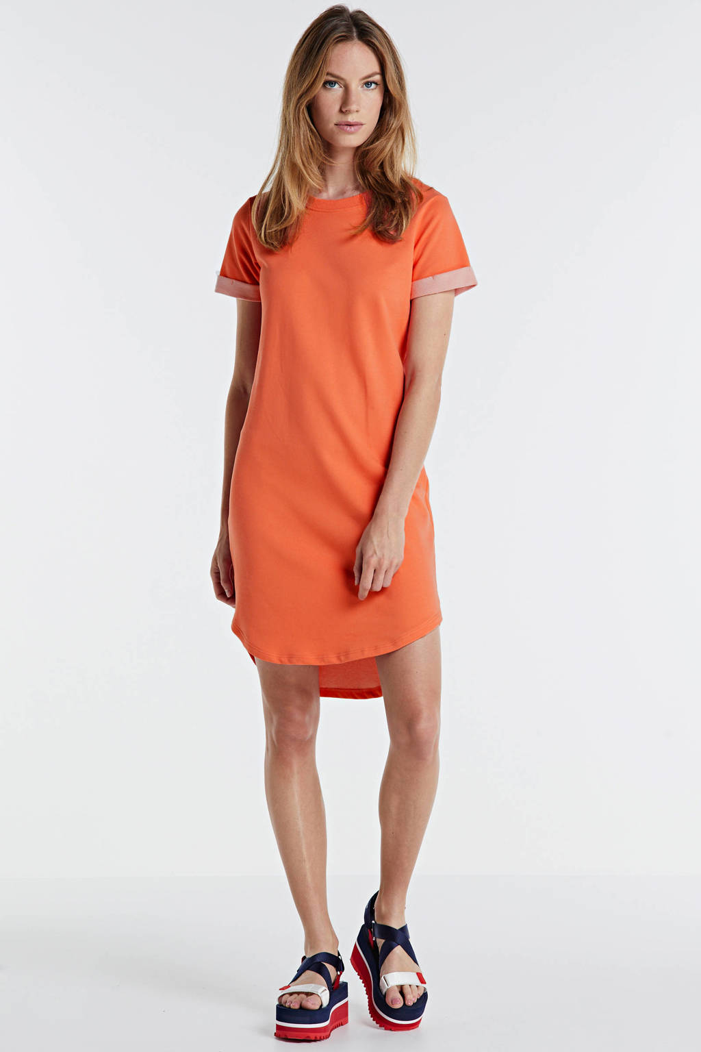 JACQUELINE DE YONG jurk koraal, Koraal