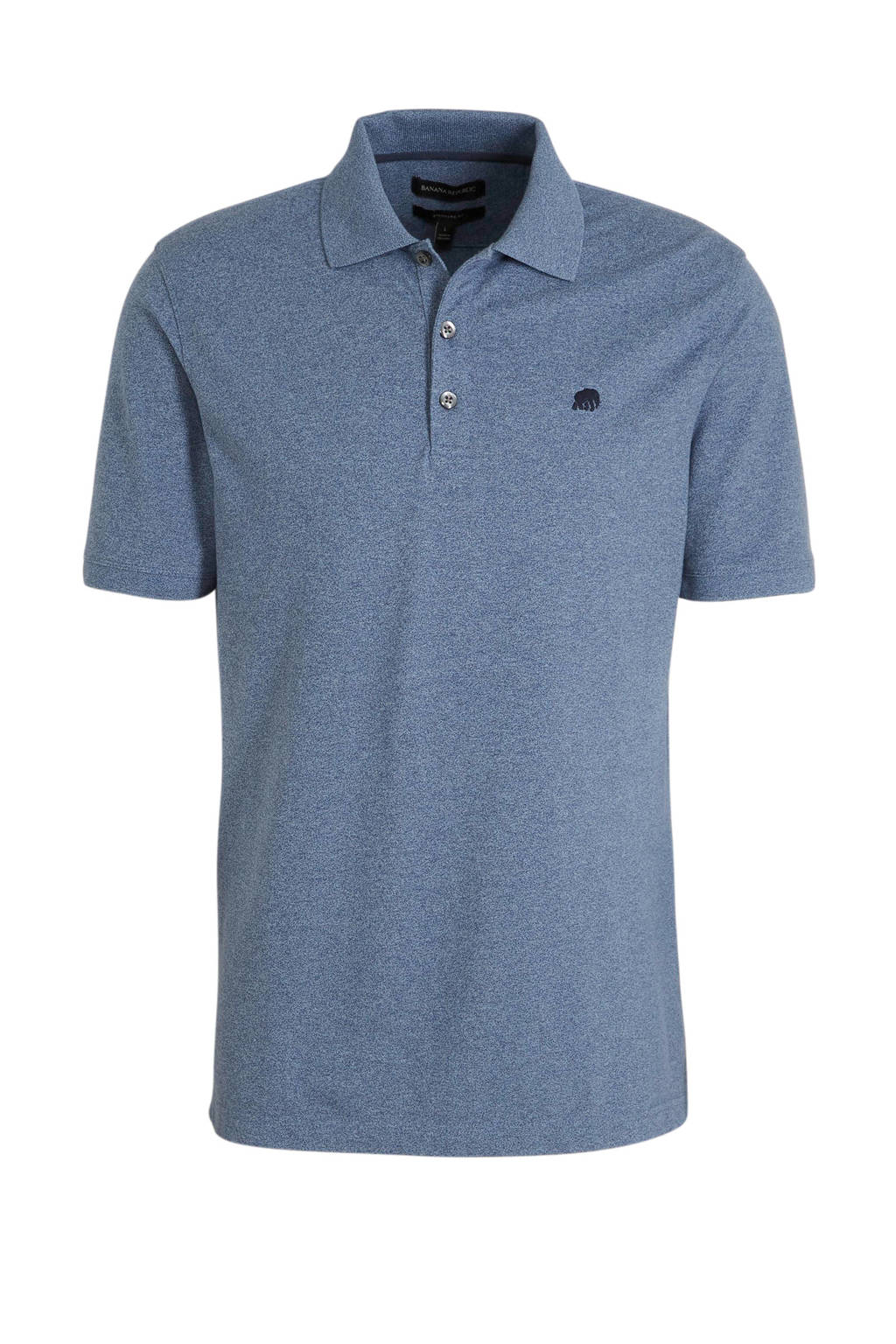 Banana Republic regular fit polo donkerblauw, Donkerblauw