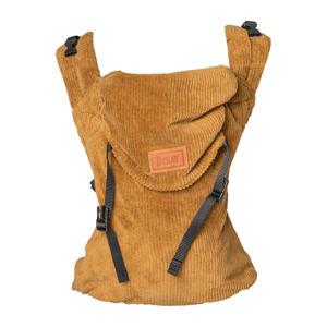 Click Carrier classic draagzak Rib Velvet  Mustard Brown