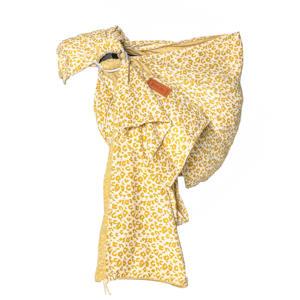 Ringsling draagdoek Yellow Leopard