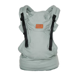 Click Carrier Deluxe draagzak Minty Grey
