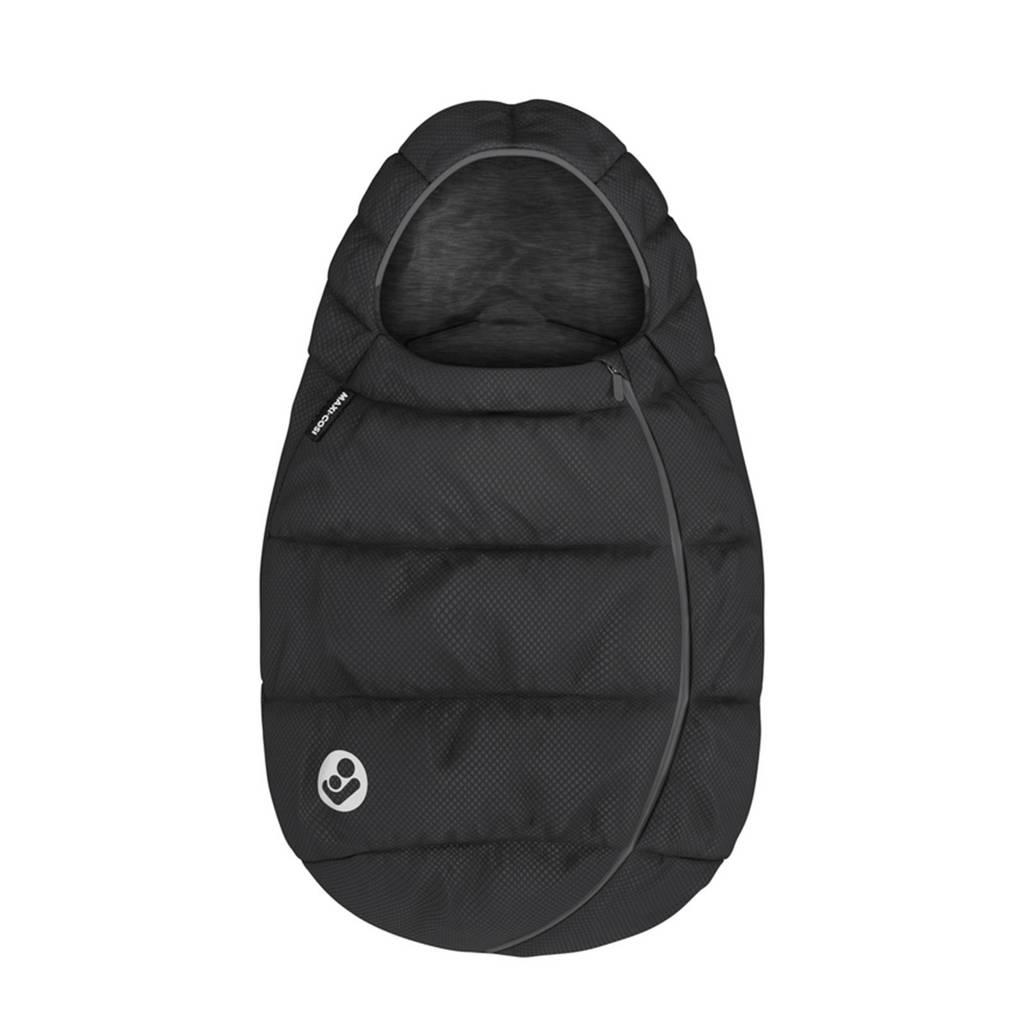 Maxi-Cosi gevoerde en gewatteerde voetenzak Essential Black