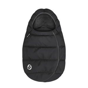 gevoerde en gewatteerde voetenzak Essential Black