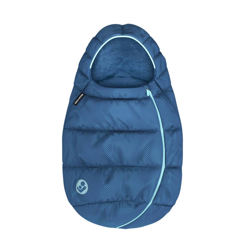 Maxi-Cosi gevoerde en gewatteerde voetenzak Essential Blue