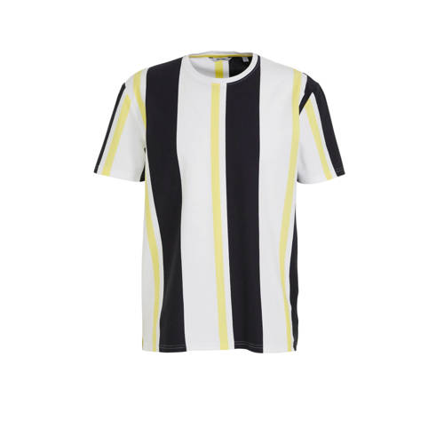 ONLY & SONS gestreept T-shirt limelight
