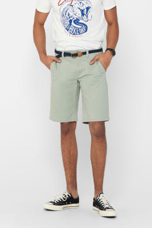 slim fit jeans short seagrass