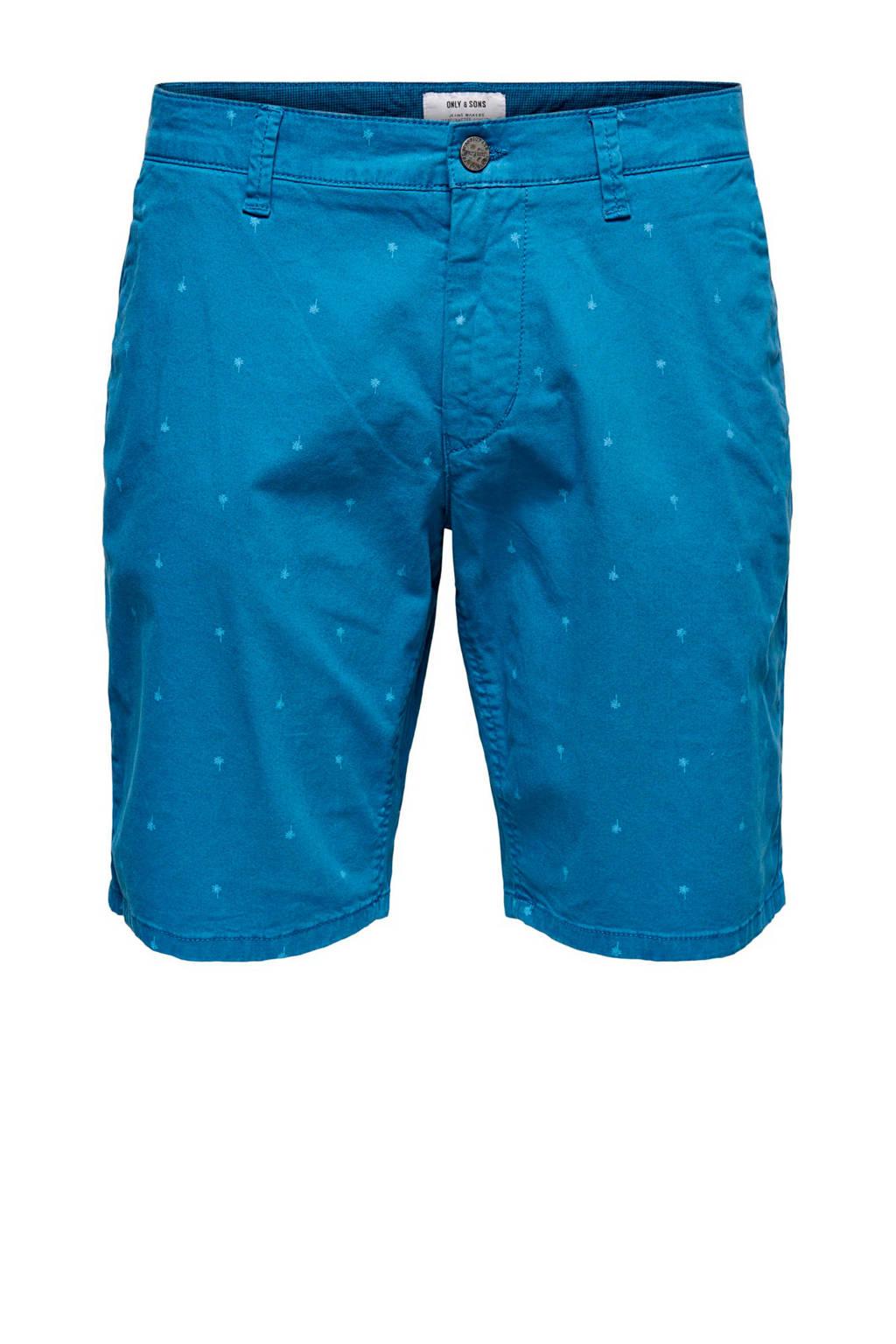 ONLY & SONS slim fit bermuda dark blue, Dark Blue