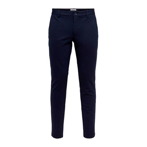 ONLY & SONS slim tapered fit chino night sky