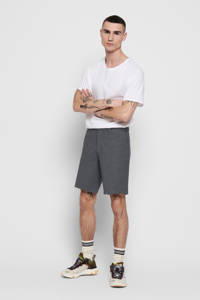 ONLY & SONS tapered fit bermuda zwart, Black