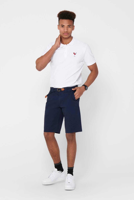 ONLY & SONS regular fit jeans short dress blues