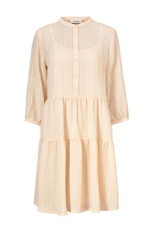 jurk Cathrine met textuur lichtroze