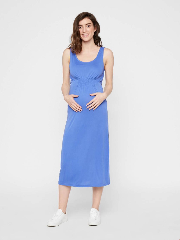 MAMALICIOUS zwangerschapsjurk Jen blauw, Blauw
