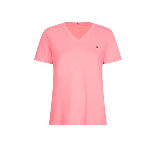 Tommy Hilfiger T-shirt roze