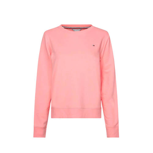 Tommy Hilfiger trui met logo Pink grapefruit