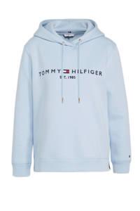 Tommy Hilfiger essential hoodie breezy blue, Breezy blue