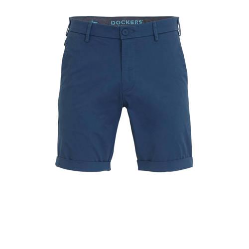 Dockers regular fit bermuda Modern blauw