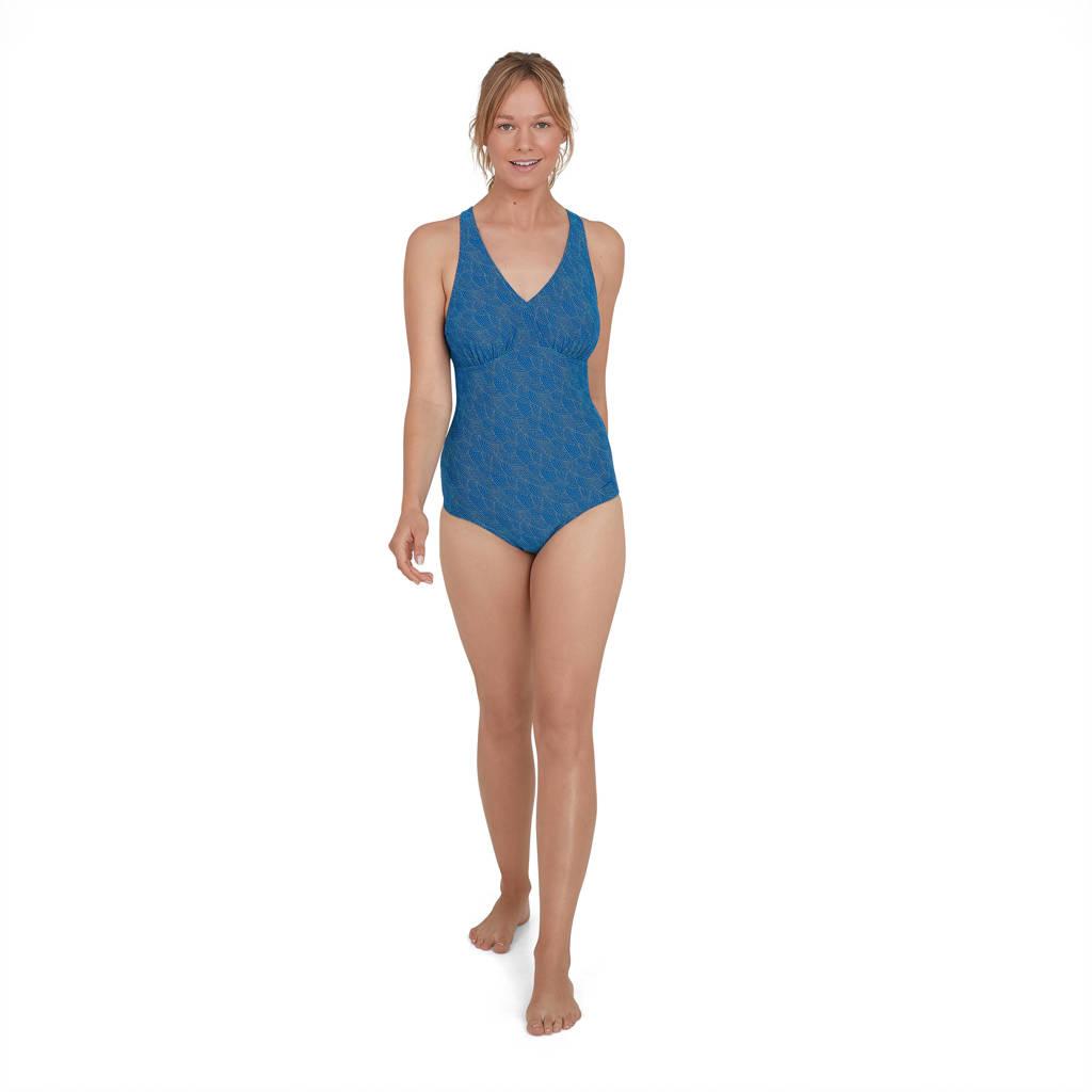Speedo Endurance 10 sportbadpak blauw, Blauw