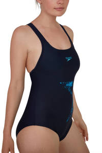 Speedo Endurance10 sportbadpak Boomstar zwart/blauw, Zwart/blauw