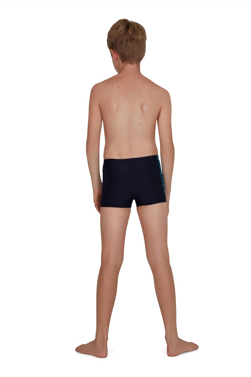 Speedo Endurance10 zwemboxer Boomstar Splice zwart, Marine