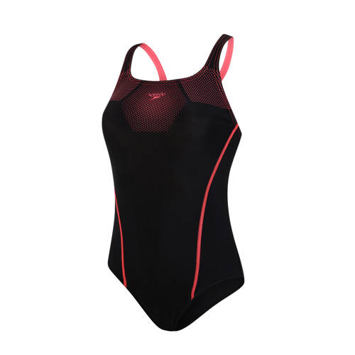Speedo Endurance10 sportbadpak Medalist zwart