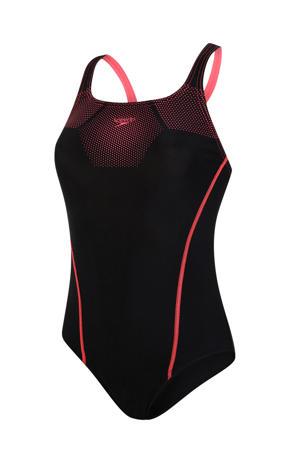 Endurance10 sportbadpak Medalist zwart/rood