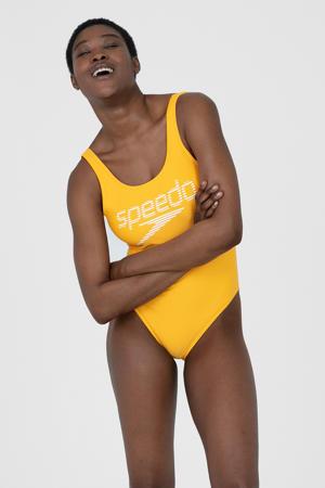 Endurance 10 sportbadpak geel