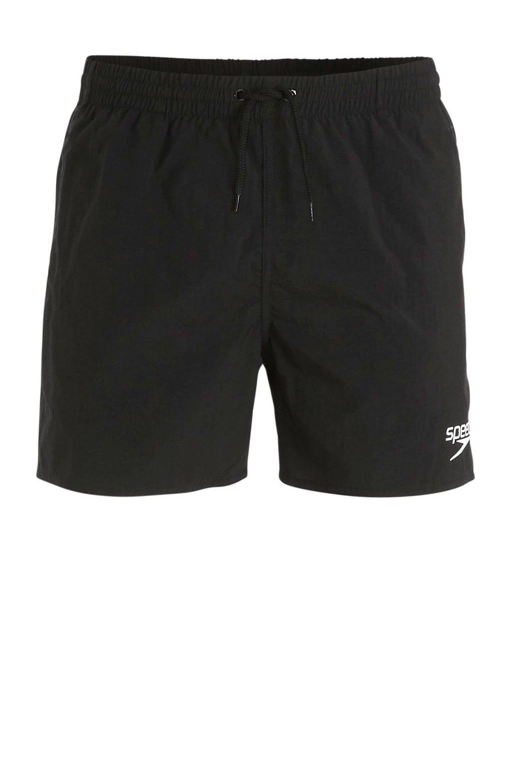Speedo zwemshort Essentials zwart, Zwart