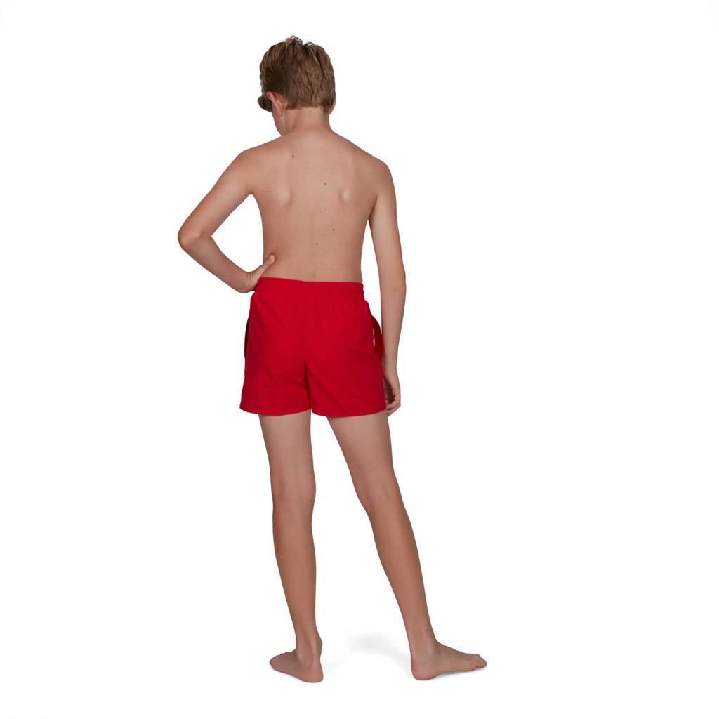 Speedo zwemshort Essential rood, Rood