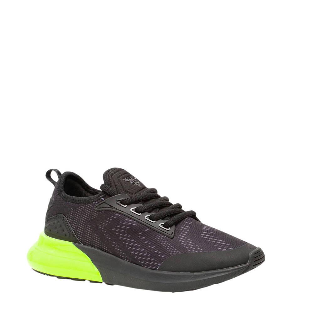 Scapino Osaga   sneakers zwart/groen, Zwart/groen