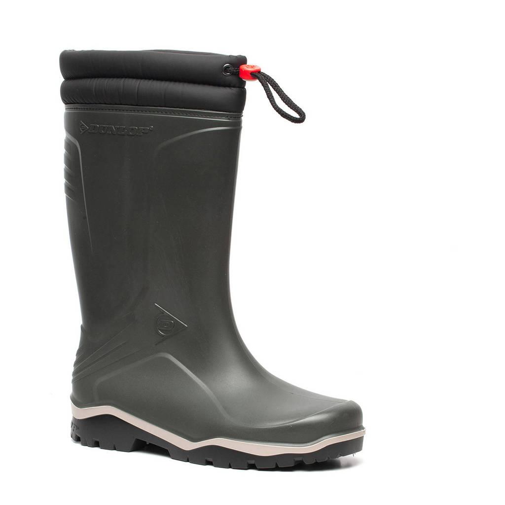 Dunlop Blizzard Thermo  snowboots/regenlaarzen groen, Donkergroen