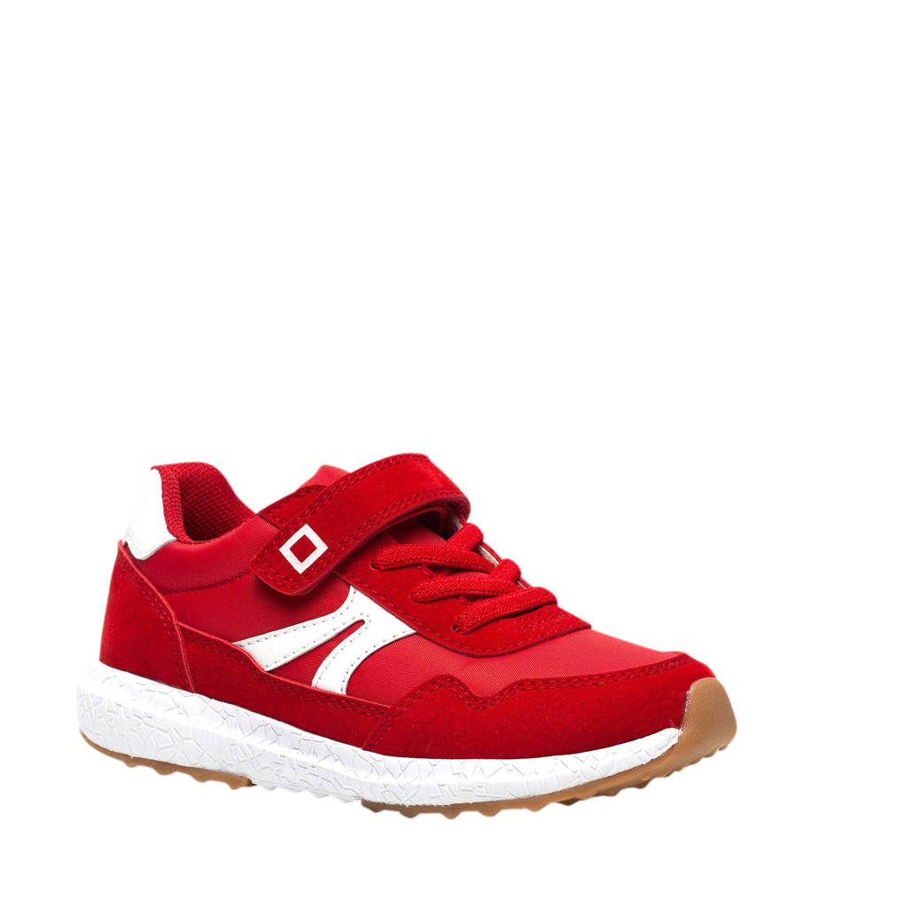 Scapino Blue Box   sneakers rood/wit, Rood/wit