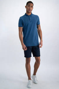 Garcia regular fit polo blauw, Blauw