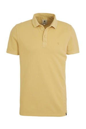 regular fit polo yellow rock