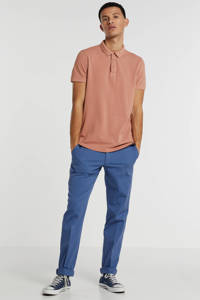Garcia regular fit polo coral reef, Coral Reef