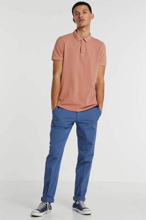 regular fit polo coral reef