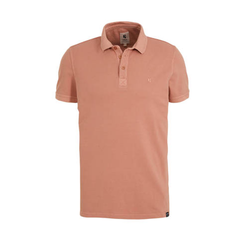 Garcia regular fit polo coral reef