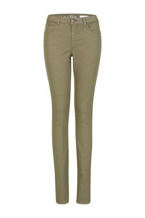 slim fit broek Elise 36 inch groen