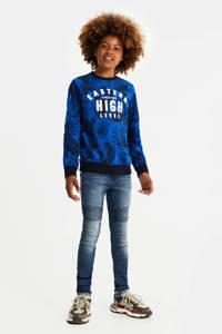 WE Fashion Blue Ridge super skinny jeans dark denim, Dark denim