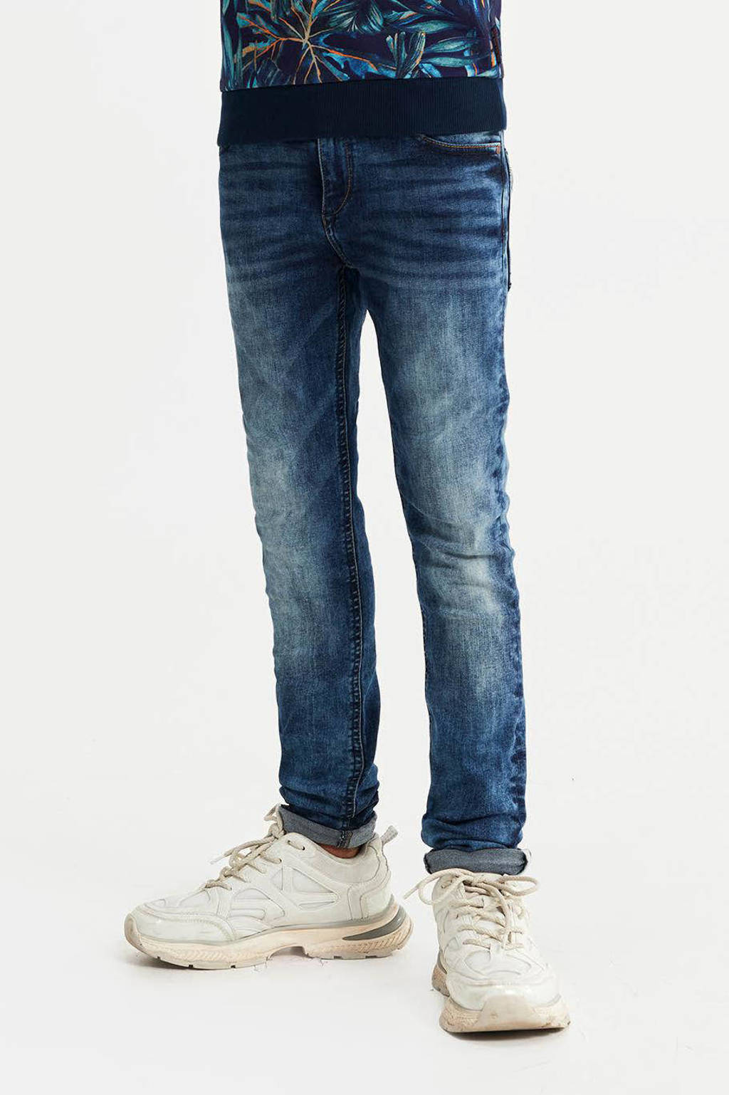 WE Fashion Blue Ridge skinny jeans Lucas Kyte stonewashed, Stonewashed