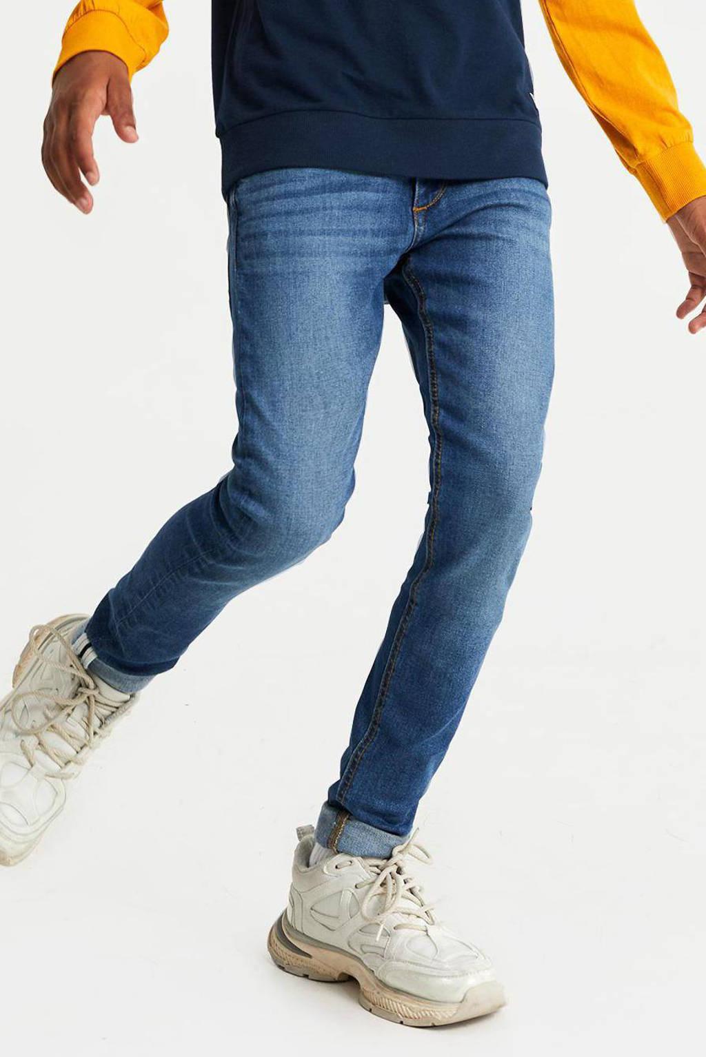 WE Fashion Blue Ridge slim fit jeans stonewashed, Stonewashed
