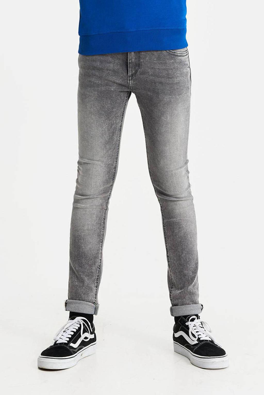 WE Fashion Blue Ridge skinny fit jeans grey denim, Grey denim