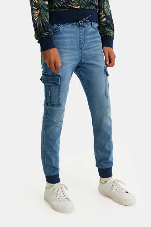 tapered fit jeans stonewashed