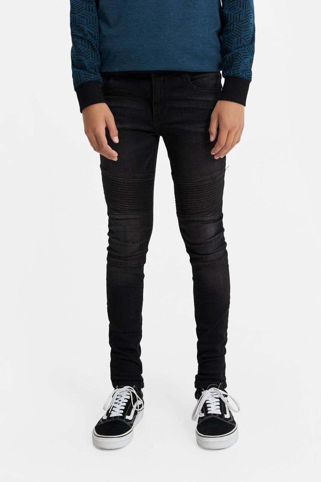 WE Fashion Blue Ridge skinny jeans black denim, Black denim